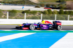 Red Bull Racing, Sebastian Vettle ,2013 Stock Photo