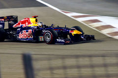 Red Bull Racing Team in Singapore F1 Stock Images