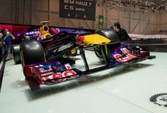 Red Bull RB8 em Genebra 2014 Fotos de Stock