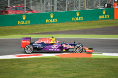Red Bull RB11 F1 driven by Daniil Kvyat at Monza Royalty Free Stock Images