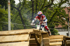 Red bull romaniacs 2015 Royalty Free Stock Photo