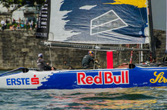Red Bull Sailing Team compete Stock Photos
