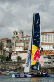 Red Bull Sailing Team compete Stock Image