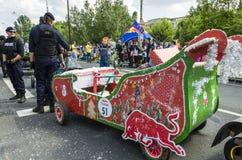 Red Bull Soapbox Boekarest 2014 Stock Foto's
