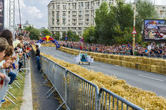 Red Bull Soapbox Bucharest 2014 Zdjęcia Royalty Free
