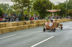 Red Bull Soapbox Bucharest 2014 Royaltyfri Fotografi