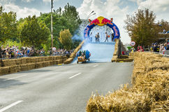 Red Bull Soapbox Bucharest 2014 Royaltyfri Bild