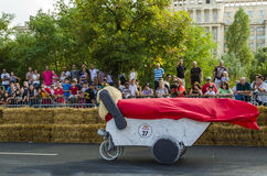 Red Bull Soapbox Bucharest 2014 Stock Image