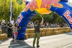 Red Bull Soapbox Bucharest 2014 royalty free stock photos
