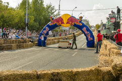 Red Bull Soapbox Bucharest 2014 Stock Photography
