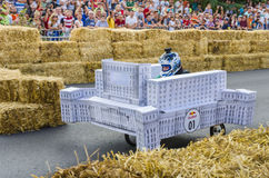 Red Bull-Soapbox Bukarest 2014 Stockfotografie