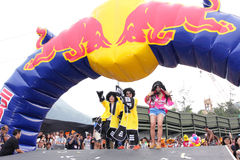 Red Bull Soapbox Hong Kong 2012 Stock Image