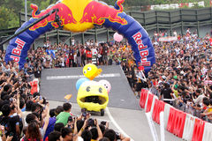 Red Bull Soapbox Hong Kong 2012 Royalty Free Stock Images