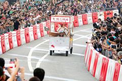 Red Bull Soapbox Hong Kong 2012 Royalty Free Stock Photography