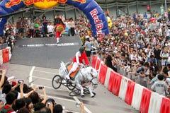 Red Bull Soapbox Hong Kong 2012 Stock Image