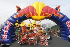 Red Bull Soapbox Hongkong 2012 Stock Foto