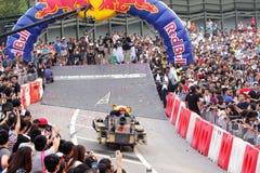 Red Bull Soapbox Hongkong 2012 Royalty-vrije Stock Afbeeldingen