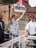 Red Bull Soapbox Martha Team Royaltyfria Bilder