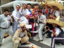 Red Bull Soapbox rasa 2014 w Turyn Zdjęcie Stock