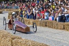 Red Bull-Soapbox-Rennen Stockbild