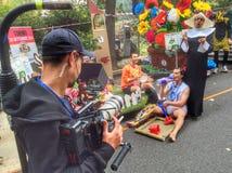 Red Bull-Soapbox-Rennen 2014 in Turin Stockfotografie