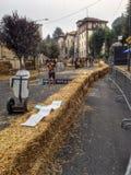 Red Bull-Soapbox-Rennen 2014 in Turin Lizenzfreie Stockfotografie