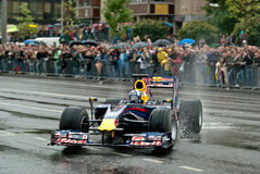 Red Bull Speed Avenue Vilnius Royalty Free Stock Photo
