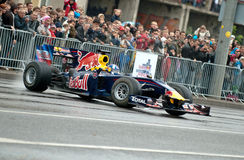 Red Bull Speed Avenue Vilnius Royalty Free Stock Photos