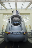 Red Bull Stratos capsule Royalty Free Stock Image