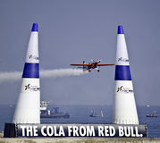 Red bull training Royalty Free Stock Image