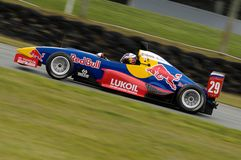 Formula One recruit, Danill Kyvat in the Red Bull  Stock Image