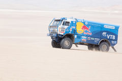 Red Bull truck Dakar 2013 Stock Image