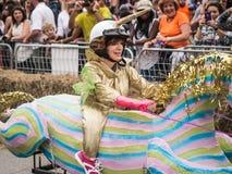 Red Bull Unicorn Racer Royalty Free Stock Image
