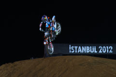 Red Bull X-Fighters Royalty Free Stock Images