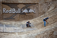 Red Bull X Fighters Logo Royalty Free Stock Images