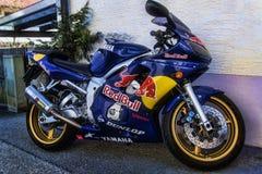 Red Bull Yamaha Photo stock