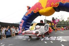 Red BullSoapbox Hong Kong 2012 Stockbild