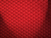 Red Bumps. Red Bump Background with top lit spotlight Royalty Free Stock Images