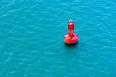 Free Red Buoy Royalty Free Stock Photo - 36108755