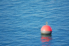 Red buoy Royalty Free Stock Image