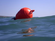 Red buoy Royalty Free Stock Photo