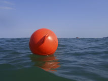 Red buoy Royalty Free Stock Photos