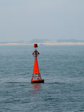 Red buoy Stock Photography