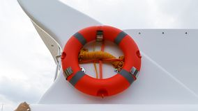 Red buoy ring Royalty Free Stock Photography