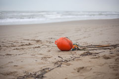 Red buoy Royalty Free Stock Photo