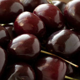 Red-burgundy cherry Royalty Free Stock Images