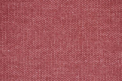 Red Burlap texture as background Royalty Free Stock Photo