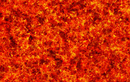 Red burning fire texture Stock Image