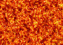 Red burning fire texture Stock Photo