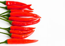Red burning pepper Royalty Free Stock Photo